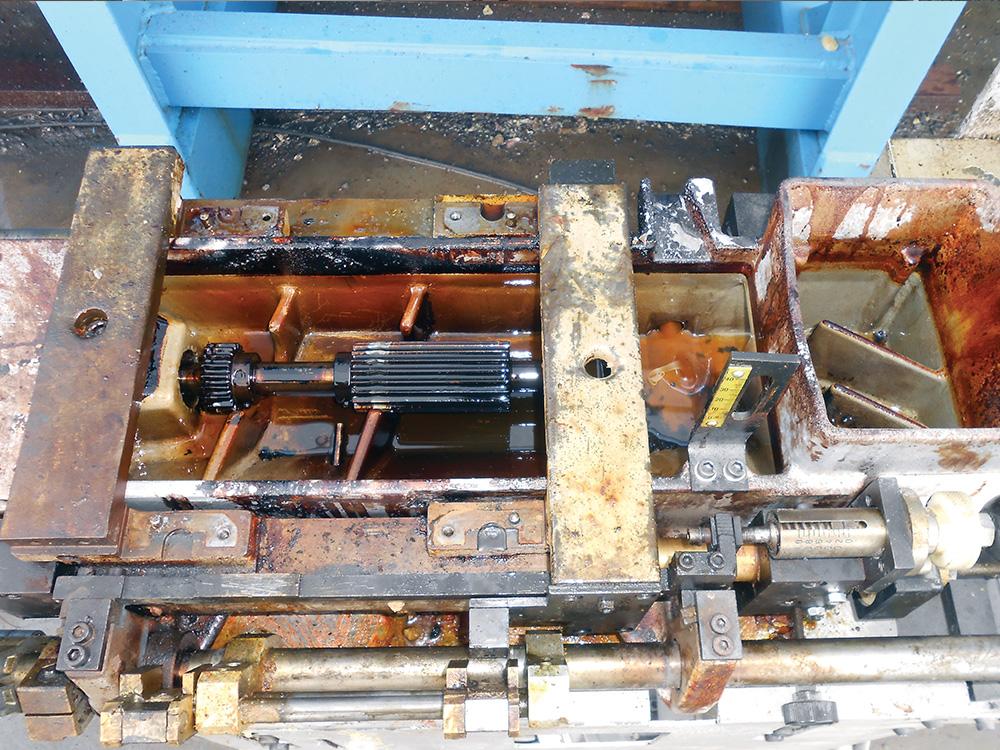 Dry Ice Blasting av produksjonsutstyr : Mintie